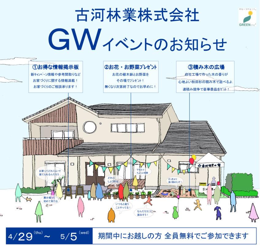GWイベント 【4/29~5/5小山】
